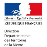 logo de la direction départementale de la Nièvre